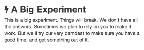 expirement